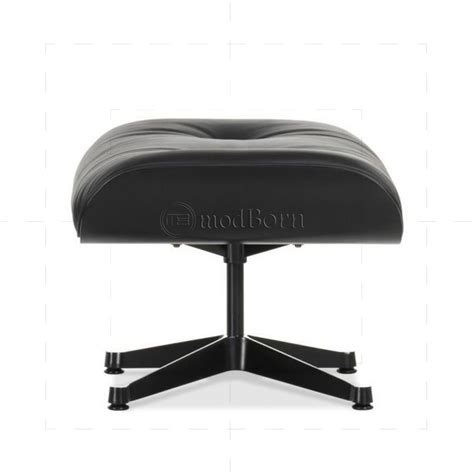 black leather chair and ottoman eames style lounge chair and ottoman black leather black