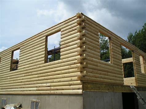 Wall Log Cabin by Log Wall Kits Log Cabin Water Tight Materials