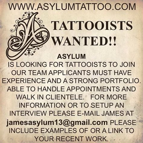 tattoo artist wanted free downloadable designs