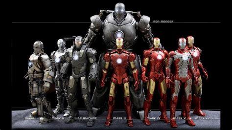 evolution iron man suit youtube