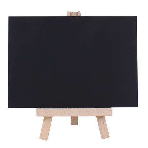 with chalkboard mini desktop easel with chalkboard