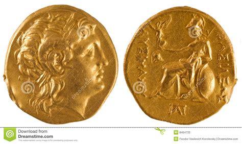 antica moneta persiana moneta di oro della grecia antica fotografie stock