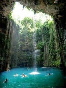Natural pool in mexico 35 amazing places in our amazing world