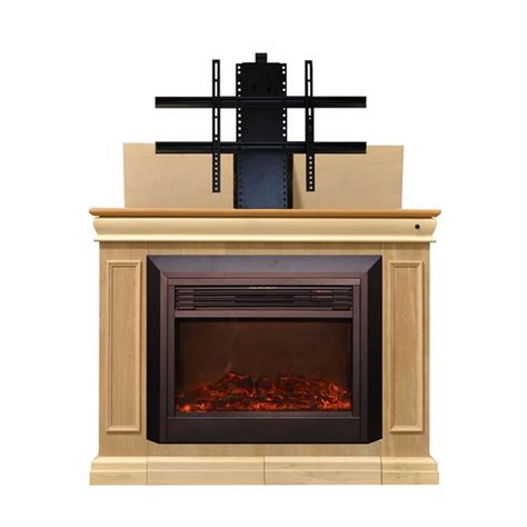 touchstone 71180 conestoga tv lift with electric fireplace