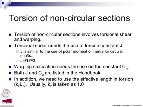 torsion of circular sections torsion of non circular sections 28 images strength of