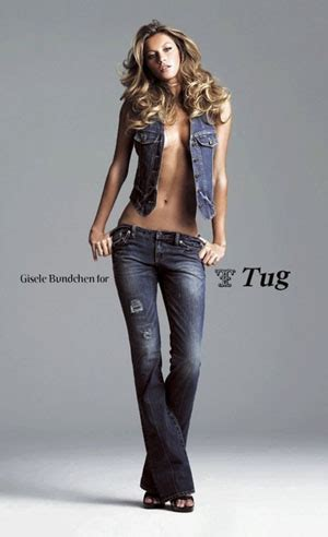 Gisele Bundchen For Tug by Gisele Ad Caign For Tug Denim Denimology