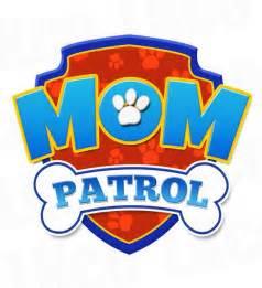 paw patrol iron on transfer patrol mom patrol