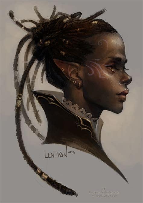 len 6v golden eyed by len yan on deviantart