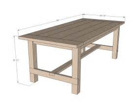 table plans small:  small farmhouse table plans guide and look the latest small farmhouse