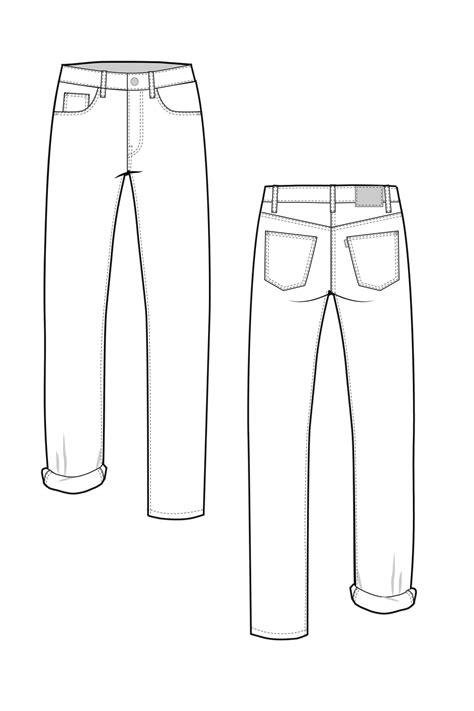 flat pattern making pdf morgan boyfriend jeans pattern boyfriend jeans a button