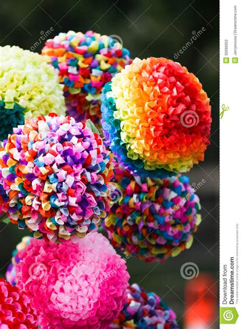 How To Make Flowers Out Of Construction Paper - paper flowers stock photography image 35690052