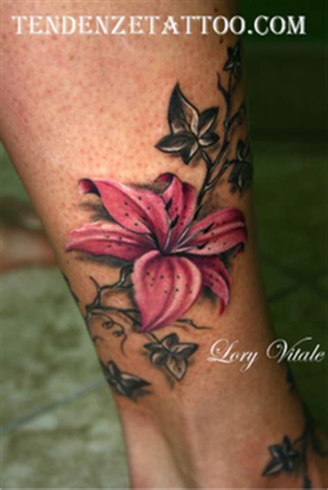 tatuaggi fiori tropicali quot il tatuaggio botanico quot il giglio paperblog