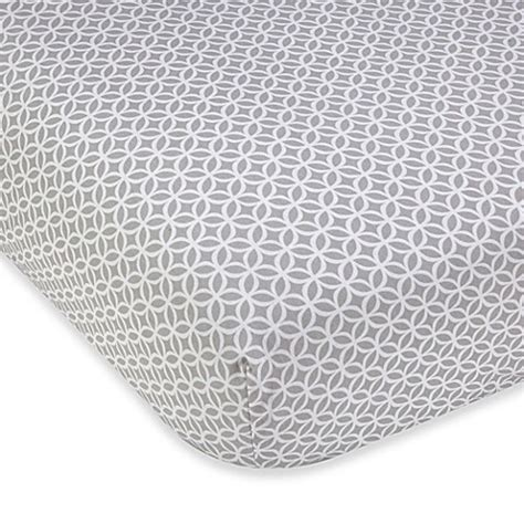 grey patterned fitted sheet wendy bellissimo mix match geometric fitted crib sheet