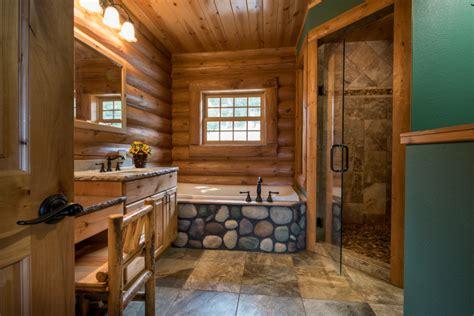 log home bathroom koshersamurai golden eagle log and timber homes log home cabin