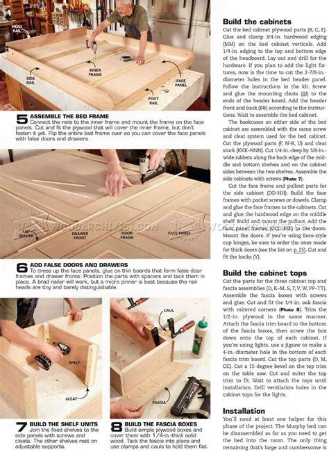 create a bed murphy bed build murphy bed woodarchivist