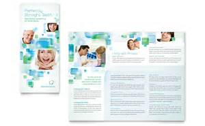 Microsoft Office Tri Fold Brochure Template by Orthodontist Tri Fold Brochure Template Word Publisher