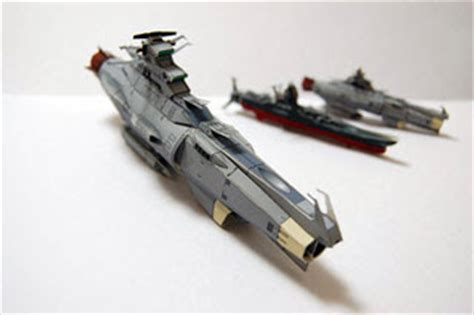 Battleship Papercraft - space battleship yamato battleship arizona papercraft