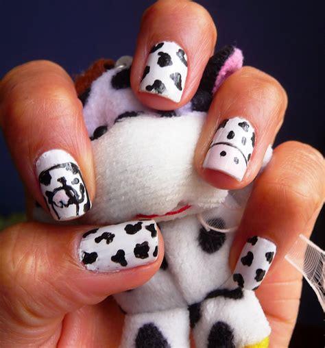 imagenes de uñas pintadas de vaquitas tutorial decoracion de u 241 as animal print vaquitas youtube