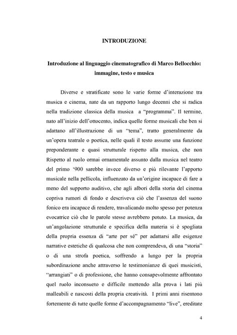 testo argomentativo sulla musica introduzione al linguaggio cinematografico di marco