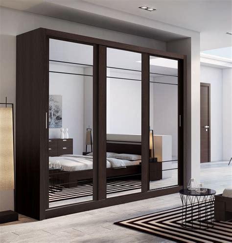 schlafzimmer wardrobes brand new modern bedroom 3 sliding door mirror wardrobe