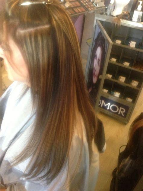 vomor hair colors 7 color blended vomor transformation in progress hair