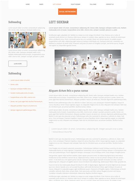social networking templates social networking html template social networking