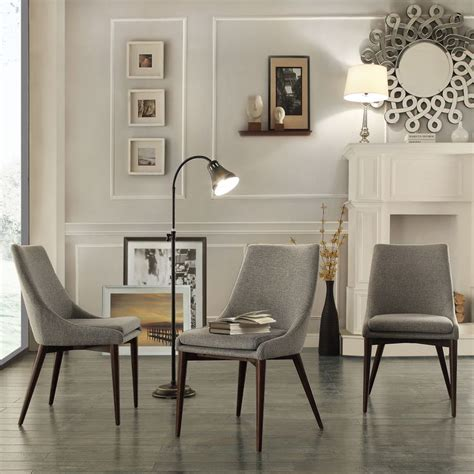 Grey Upholstered Dining Room Chairs by Buy Classic Design Grey Upholstered Dining Chairs For Your