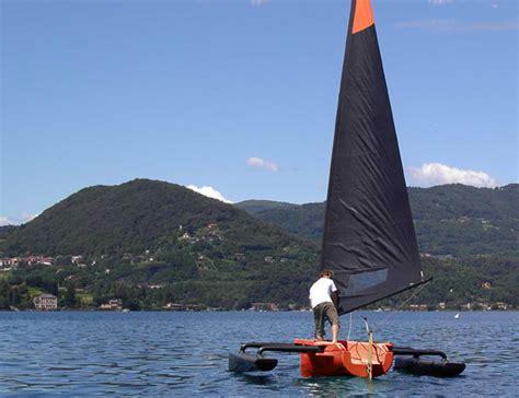 trimaran under sail introducing the spirit 422 trimaran from italy small