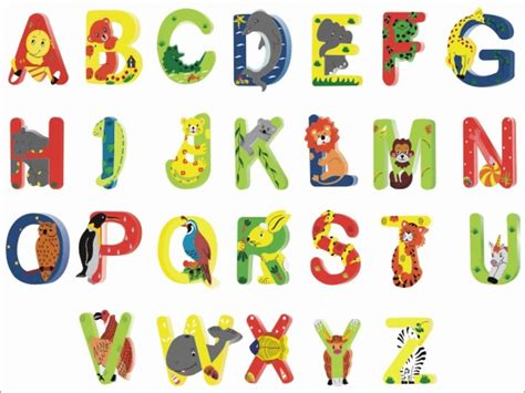 lettere con animali animal shaped letters for free kiddo shelter