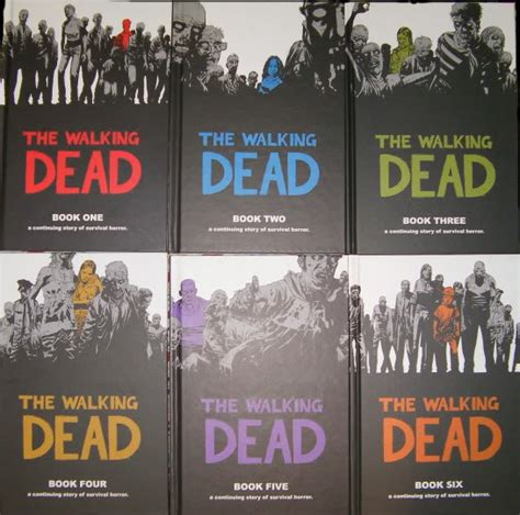 libro the walking dead volume hardcover comic pages