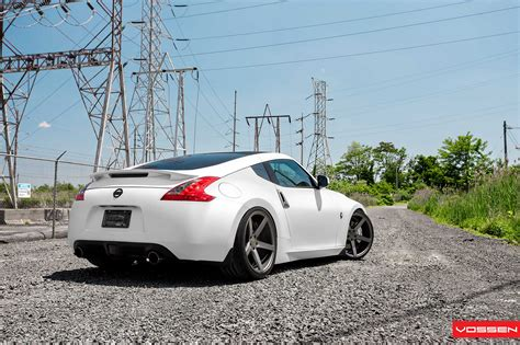 nissan 370z custom black nissan 370z aftermarket wheels