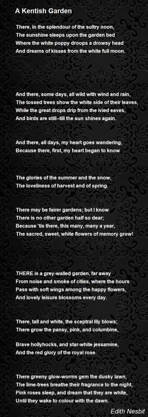 Walled Garden Poem Garden Ftempo Walled Garden Poem