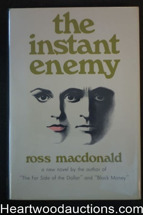 The Blue Hammer Ross Macdonald 1 the instant enemy by ross macdonald high grade