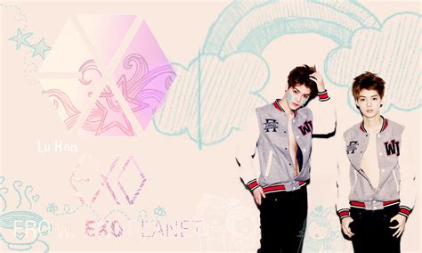 exo wallpaper with name exo m wallpaper for desktop wallpaper wallpaperlepi