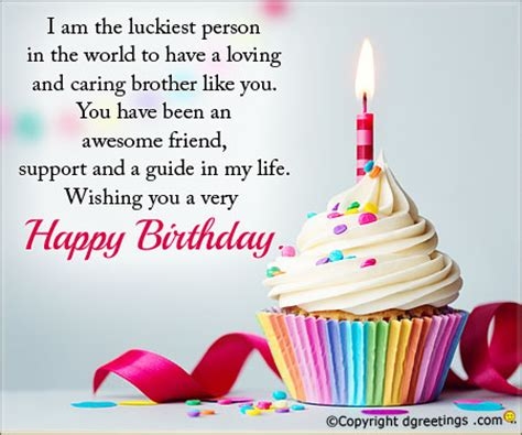 Wishing My Happy Birthday Birthday Message For Brother Birthday Sms Wishes For