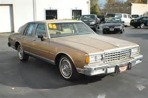 1985 Chevrolet Caprice 1985 Chevrolet Caprice Classic Sedan Chevy Best Car Sale