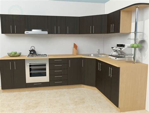 3d kitchen cabinets 3d model simple kitchen download for free