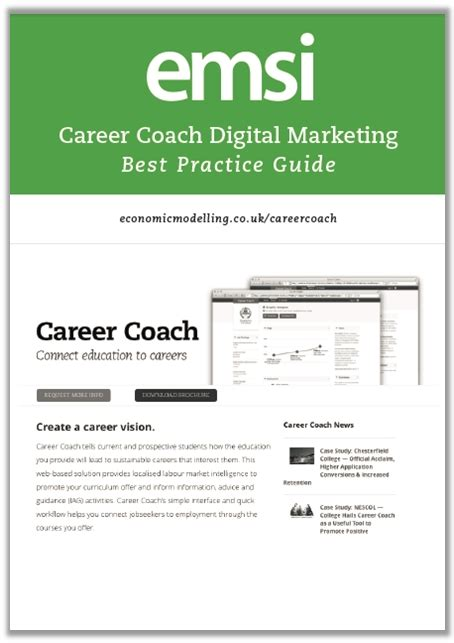 Digital Marketing Degree Florida 2 by Career Coach Digital Marketing Best Practice Guide Emsi