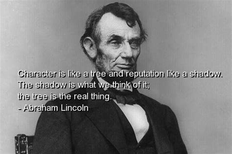 abraham lincoln biography corta en ingles character quotes by famous people quotesgram