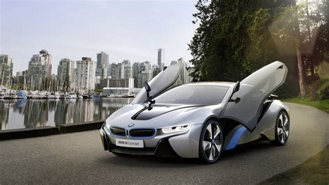 bmw supercar concept bmw i8 hybrid supercar wallpapers for desktop 1920x1080