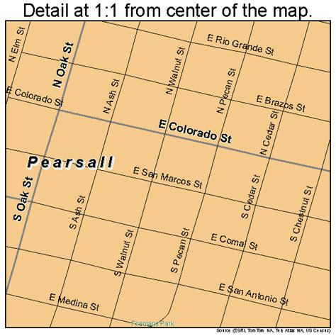 pearsall texas map pearsall texas map 4856384