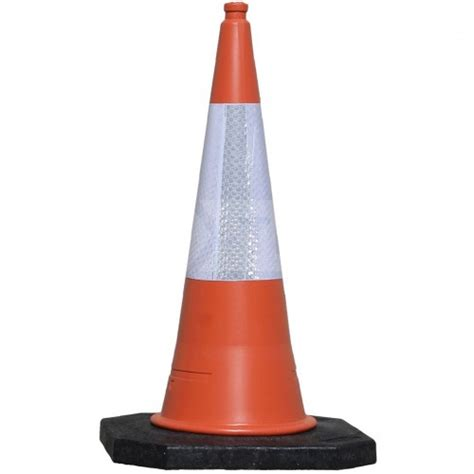 Traffic Cone Karet Safe Line 1m road cone manchester safety services