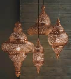 moroccan chandeliers 15 id 233 es d 233 co d int 233 rieur 171 cuivr 233 es 187 pour une maison