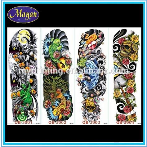 temporary tattoo paper manufacturer best selling wolf tattoo sticker temporary tattoo paper