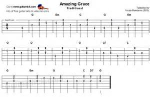 Easy Amazing Grace Guitar Tabs » Home Design 2017