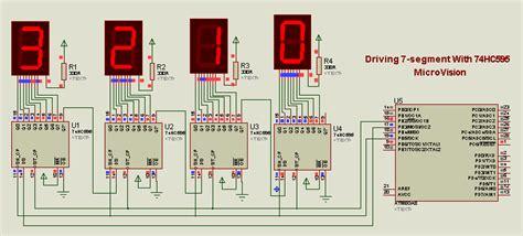 Membuat Jam Digital Menggunakan Atmega8535 | membuat simulasi jam digital dengan proteus microvision