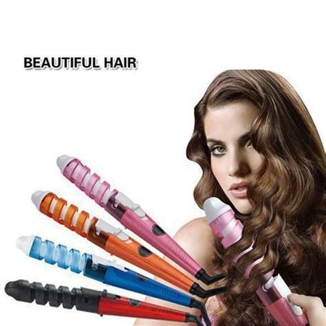 new professional hair salon spiral ceramic curling iron brand new professional hair curlers electric curl ceramic