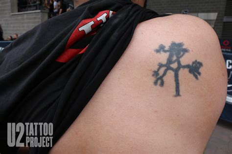 joshua tree tattoo u2 project only can leave such a