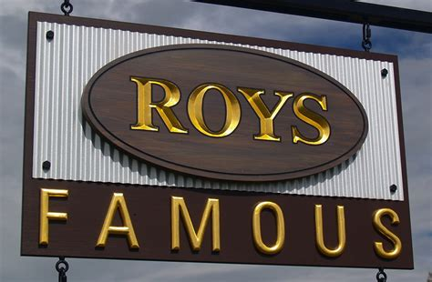 design a cafe sign roy s famous cafe sign danthonia designs usa