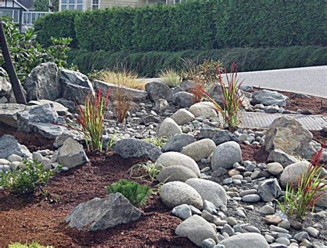 River Rock Landscaping Ideas Garden Design 57681 Garden Inspiration Ideas